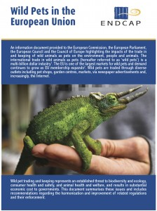 Report - Wild Pets in the European Union